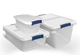 Use a Food Storage Container as a Mini Sewing Kit More Hefty