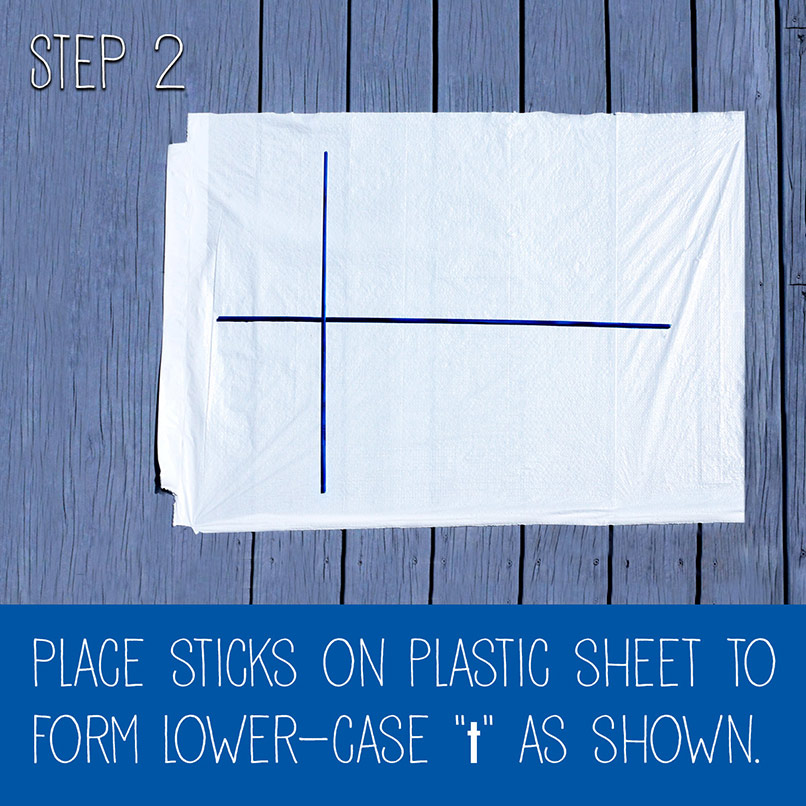 Homemade Kites Using Hefty Trash Bags