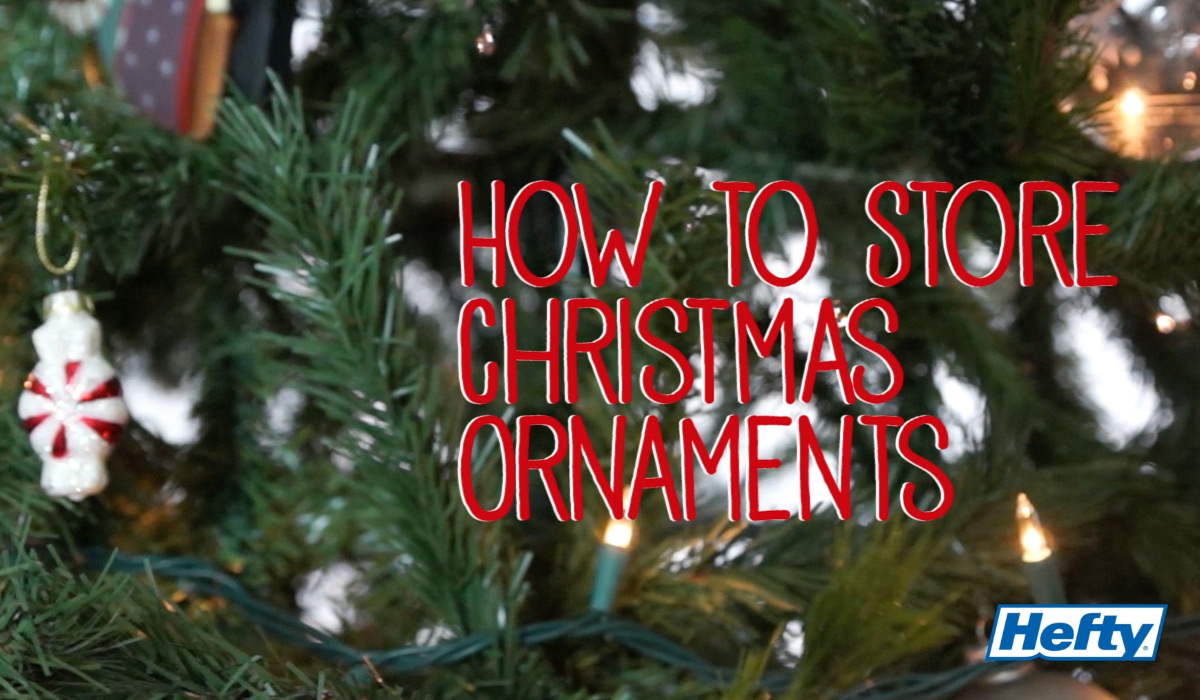 Thumbnail ... & How to Store Christmas Ornaments: Easy Ornament Storage Tips | Hefty ...