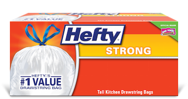 Strong Drawstring Trash Bags