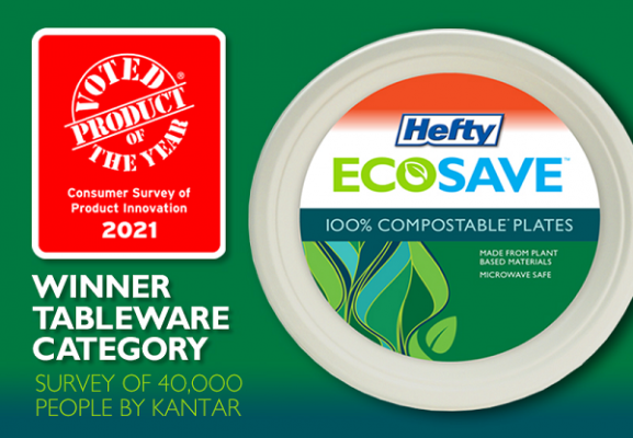 Hefty ECOSAVE Product of the Year