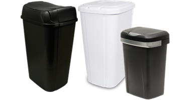 ... StorageIndoor Trash Cans Touch Lid Wastebaskets. Thumbnail